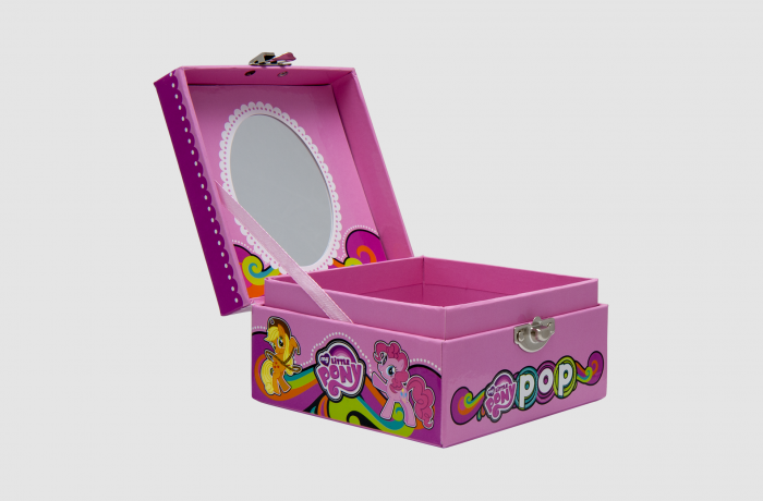 Mirror Paper Box for kids