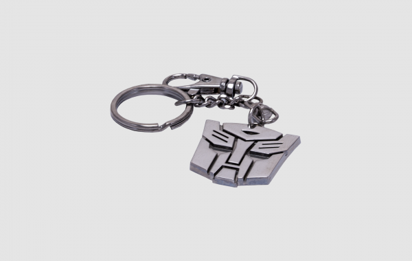 Character shaped Alloy Key chain